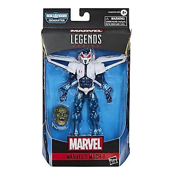 Marvel Legends Mach-I 6 Inch Action Figure