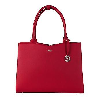 SOCHA Women's Handbag Straight Line Midi 39 cm, Red