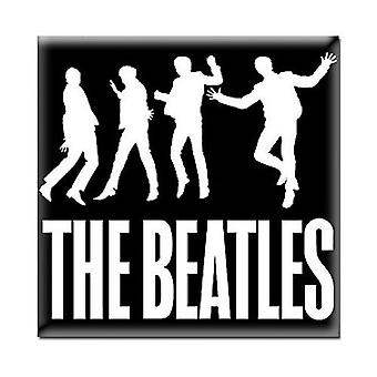 The Beatles Fridge Magnet Jump band logo new Official 76mm x 76mm