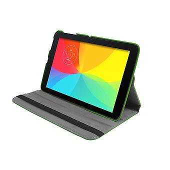 "PU Leather Case 360 Rotating for LG G Pad V700 10.1""[Green]"