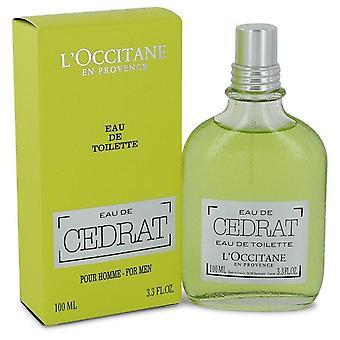 L'occitane Eau De Cedrat Eau De Toilette Spray By L'occitane 2.5 oz Eau De Toilette Spray
