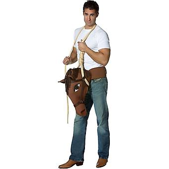 Som en häst Adult kostym