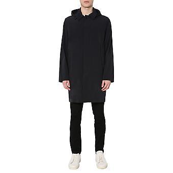 Aspesi I010g00601241 Men's Black Nylon Trench Coat