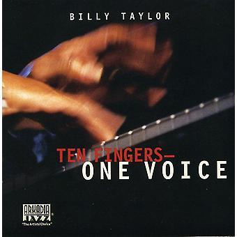 ビリー ・ テイラー - 10 本の指の 1 つの声 [CD] USA 輸入