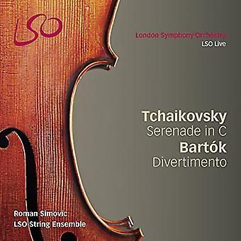 Tchaikovsky / Bartok - Serenade for Strings [SACD] USA import