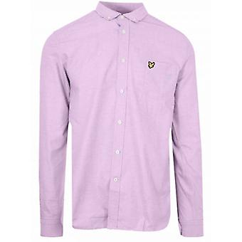 Lyle & Scott Pink Long-Sleeve Shirt