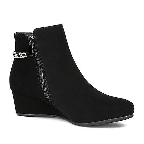Dream Pairs Women's Wedge Heel Ankle Boots