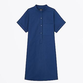 A.P.C.  - Temple - Denim Dress - Indigo