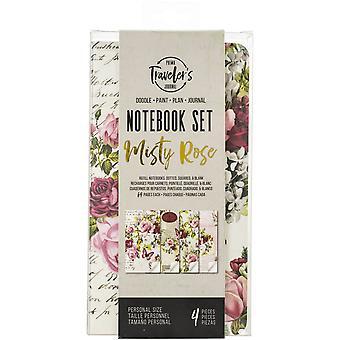 Inserciones de Cuaderno Personal de Prima Marketing Misty Rose