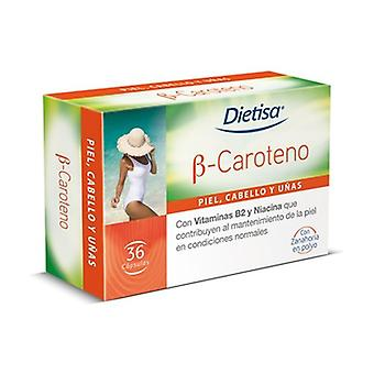 Bêta-carotène 36 capsules