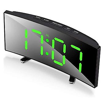 7inch Incurvé Dimmable Led Screen Digital Alarm Clock