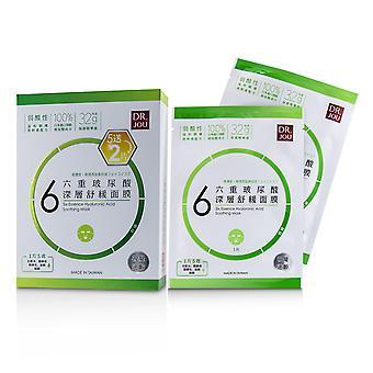Six essence hyaluronic acid soothing mask 232062 7pcs