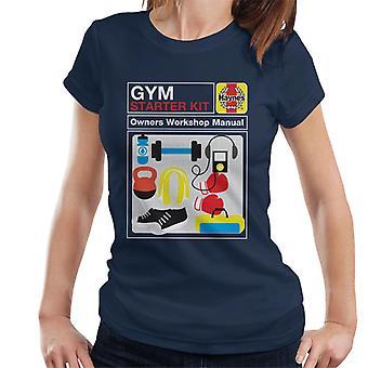 Haynes Gym Starter Kit Workshop Manuell Kvinner's T-skjorte