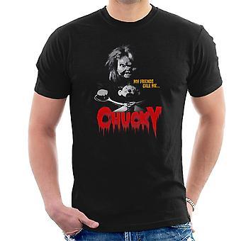 Chucky mina vänner kallar mig män ' s T-shirt