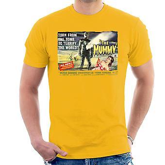 Hammer Horror Filme Mumie aus dem Grab Männer 's T-Shirt gerissen