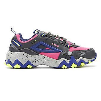 Fila Oakmont Trail Womens Pink Glo / Blue Trainers