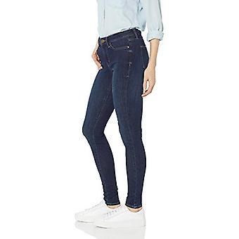 Brand - Daily Ritual Women's Mid-Rise Skinny Jean, Washed Indigo, 28 (...