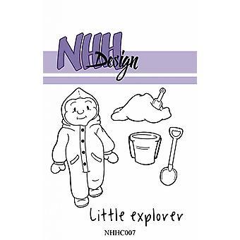 NHH Design Little Boy Exploring Clear Stamps