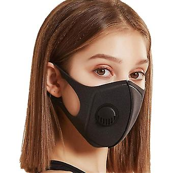 Face Mask with breathing valve, Washable Reusable Mouth Guard
