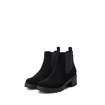 Xti - shoes - ankle boots - 33951_BLACK - ladies - black,silver - EU 40