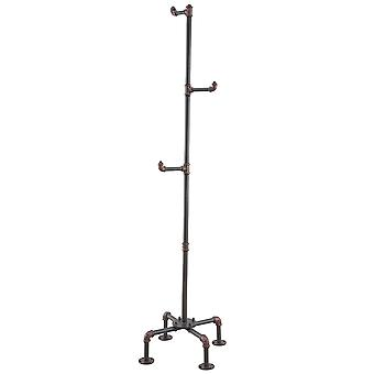 Antonio Coat Rack - Antique Black