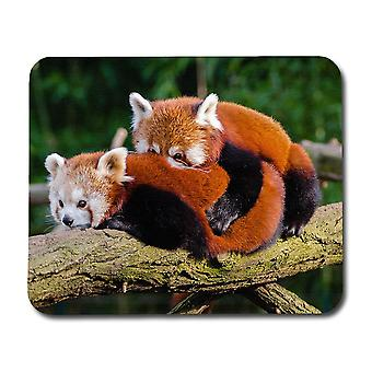 Red Pandas Mouse Pad