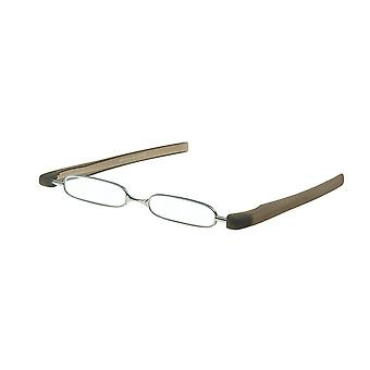 Reading Glasses Unisex Breaker Grey Strength +2.50 (le-0128B)