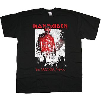 Iron Maiden The Wicker Man Smoke Official Tee T-Shirt Unisex