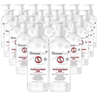 80% Alkohol Hand Sanitiser Liquid Rub - 24x 500ml Pump Flaska - Certifierad Kirurgisk / Medicinsk Kvalitet - Tillverkad i Storbritannien