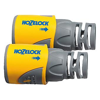 Hozelock HOZ2050AV Hose End Connector for 12.5mm - 15mm Hose Twin Pack