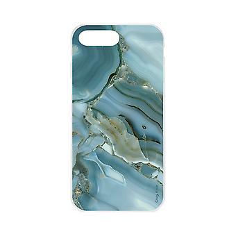 Skrov för iPhone 8 Mer flexibel Marble Effect Design