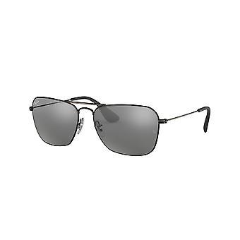 Ray-Ban RB3610 91396G Matte Black Grey Sunglasses Silver Sunglasses