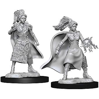 Donjons & Dragons Nolzur&apos&s Marvelous Unfnted Miniatures - Sorcier humain féminin