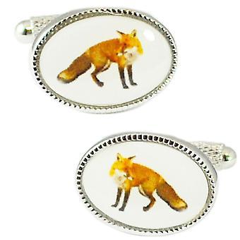 Solmiot Planet Fox Uutuus Cufflinks