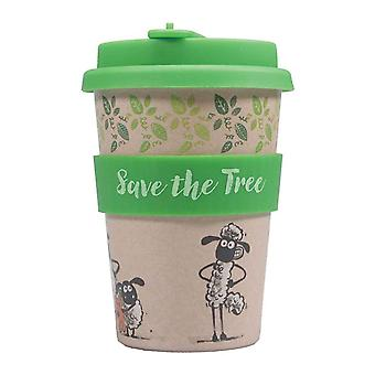 Aardman Travel Mug Shaun The Sheep Logo new Official