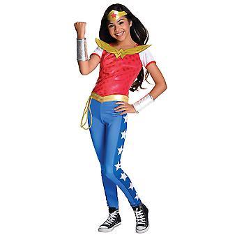 Wonder Woman Deluxe DC Comics SuperheldEnboek Week Child Girls Kostuum