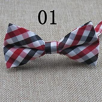 Baby Boys Bow Ties Adjustable Cotton Slim Shirt Tie Accessories