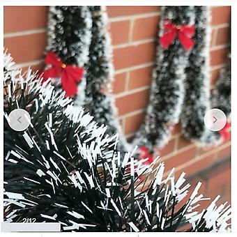 2m Christmas Eve Decoration Bar Tops Ribbon Garland Christmas Tree Kitchen Ornaments Wedding Party Decoration Prop