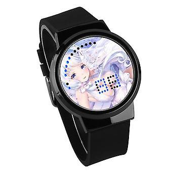 Водонепроницаемые светящиеся светодиодные цифровые сенсорные детские часы - Azur Lane #38