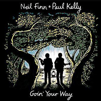 Finn, Neil / Kelly, Paul - Goin Your Way [CD] USA import
