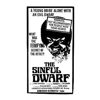 The Sinful Dwarf Movie Poster (11 x 17)