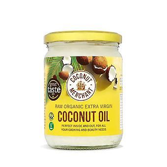 Aceite de coco orgánico para el comerciante de coco 500ml virgen extra, crudo, prensado en frío, sin refinar Éticamente