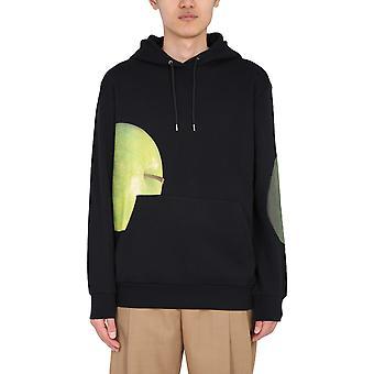 Paul Smith M1r180tep218030 Heren's Green Cotton Sweatshirt