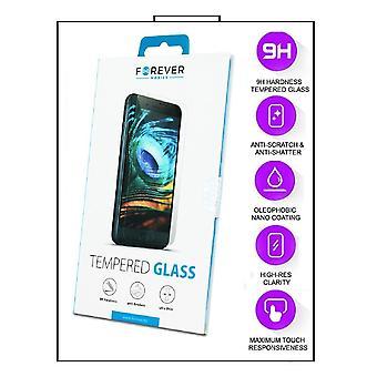 2-Pack Motorola Moto G9 Plus - FOREVER herdet glass skjermbeskyttelse