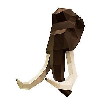Mammoth Head Wall Art