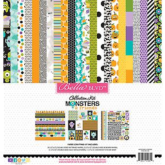 Bella BLVD Monsters & Friends 12x12 Inch Collection Kit