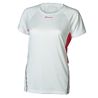 Tretorn Womens Performance Tee Training Gym T-Shirt White 475538 34