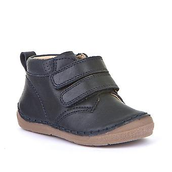 FRODDO Double Velcro Short Boot Navy Blue