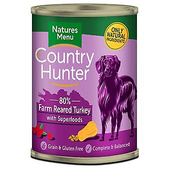 Natures Menu Country Hunter Dog Food Can Farm Reared Turkey (Dogs , Dog Food , Wet Food)