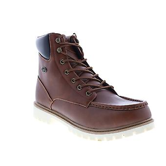 Lugz Folsom  Mens Brown Synthetic Lace Up Casual Dress Boots